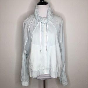 Lululemon Light Mint Full Zip Jacket Size 8